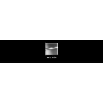 Apell Linear Plus FEM50 Ανοξείδωτος Λείος Υποκαθήμενος Νεροχύτης Με 1 Γούρνα 53,8x43,8 cm