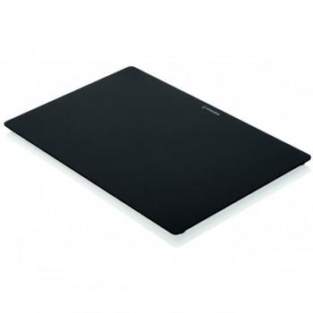 Pyramis Γυάλινος Μαύρος Δίσκος Κοπής 30,5x49 cm για τις σειρές Studio , Alea , Athena