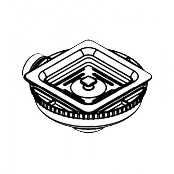 Pyramis Bαλβίδα Τετράγωνη για τους Νεροχύτες Olytnthos 2B 1D
