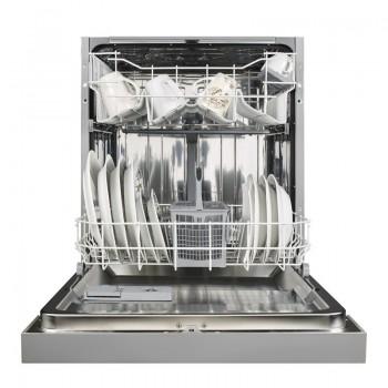 Pyramis DWG 60SI Εντοιχιζόμενο Πλυντήριο Πιάτων με Ασημί Ταμπλό 60 cm