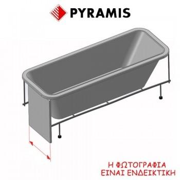 Pyramis Iole Πάνελ μήκους 80 cm για τις μπανιέρες Iole 180x80 cm