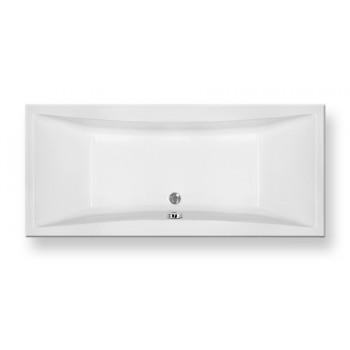 Pyramis Iole Λευκή Μπανιέρα Ακρυλική Ορθογώνια 180 x 80 cm