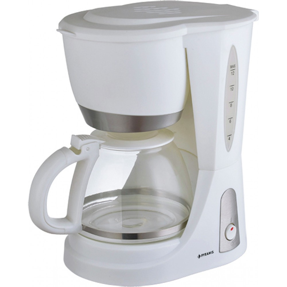 Pyramis Wl1001 Λευκή Καφετιέρα Φίλτρου 1,2Lt