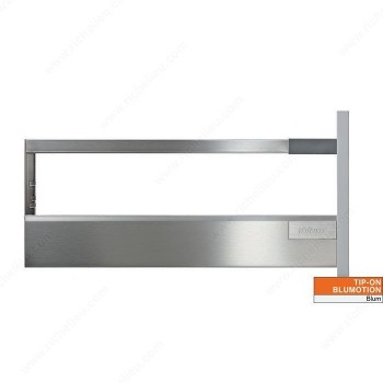 Blum Συρτάρι Tanbembox Antaro D Grey 9cm + βέργα
