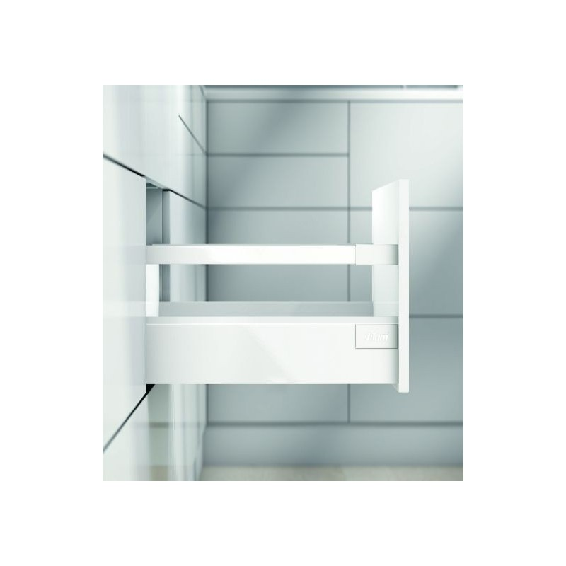 Blum Συρτάρι Tanbembox Antaro D White 9cm + βέργα
