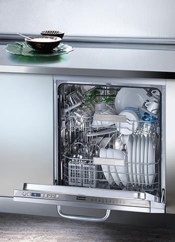 Franke FDW 614 D10P LP Πλήρως Καλυπτόμενο Πλυντήριο Πιάτων A+++ 60 cm