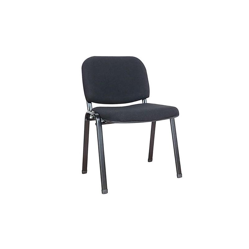 Καθίσματα Γραφείου Milos Μαύρο Ύφασμα Καρέκλα Βαφής
