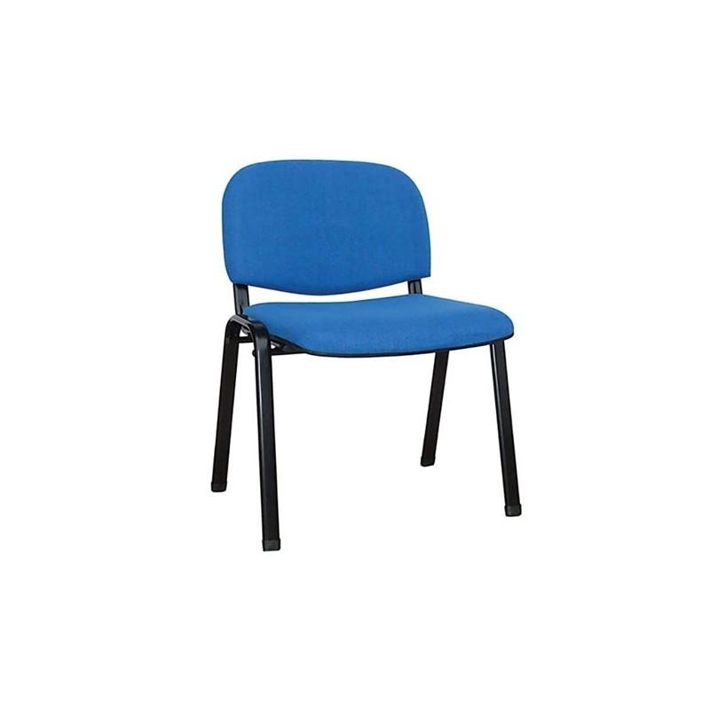 Καθίσματα Γραφείου Milos Μπλε Ύφασμα Καρέκλα Βαφής
