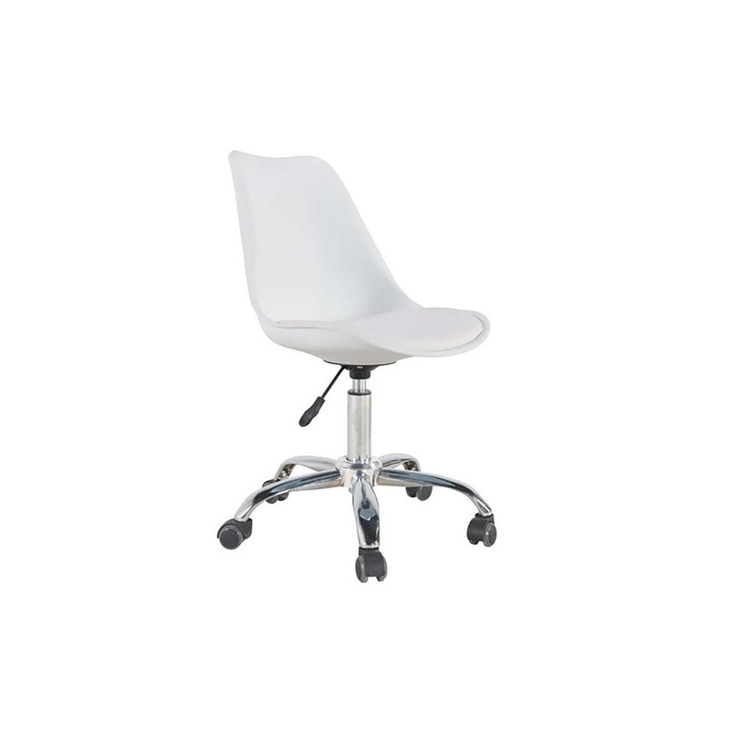 Καθίσματα Γραφείου BS1300 Λευκή-Σ2-Καρέκλα Γραφείου