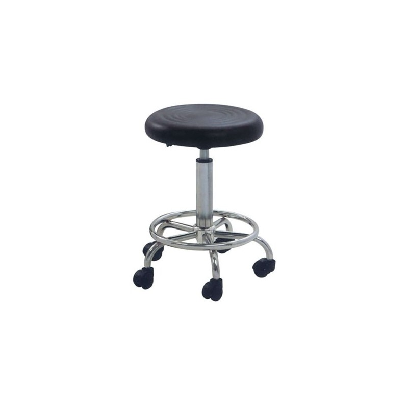 Καθίσματα Γραφείου Bar/70 Μαύρο (Σ2) Σκαμπό με Αμορτισέρ