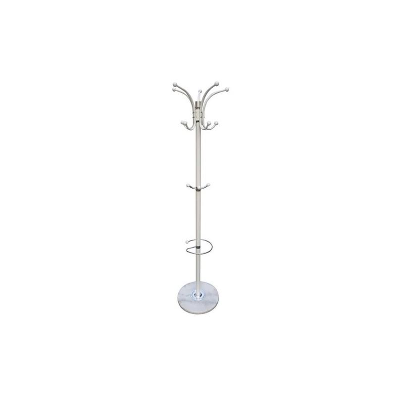 Καλόγερος Λευκός Μεταλλικός/PVC 37Χ37Χ171 εκ.