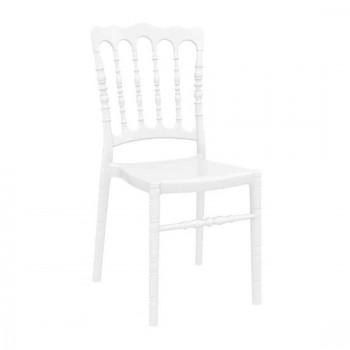 Καρέκλα Opera Glossy White (Σ4) Ακρυλική 45Χ52Χ92 εκ.