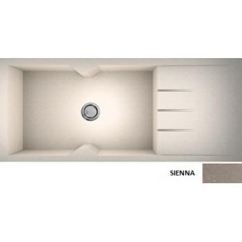 Sanitec Granite 817 Sienna Γρανιτένιος Νεροχύτης 116 1B 1D 80cm