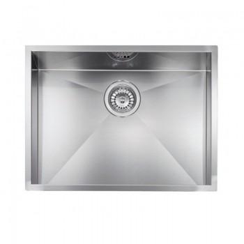 Sanitec Stainless Steel Sinks 11908 Επικαθήμενος Ανοξείδωτος Νεροχύτης 60cm