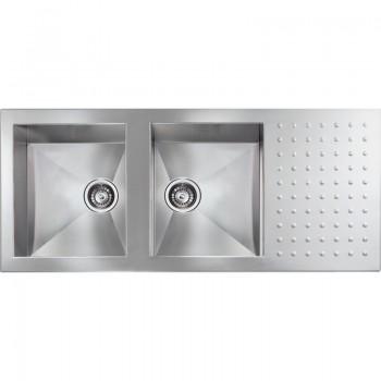 Sanitec Stainless Steel Sinks 10907 Ανοξείδωτος Νεροχύτης 90cm