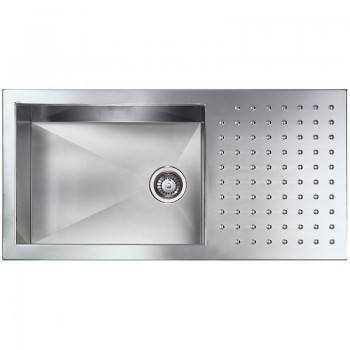 Sanitec Stainless Steel Sinks 10906 Ανοξείδωτος Νεροχύτης 60cm