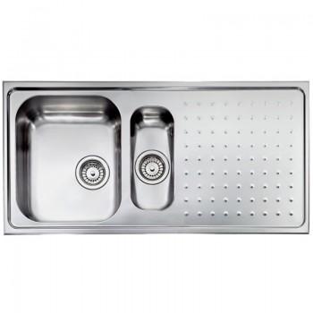 Sanitec Stainless Steel Sinks 11105 Ανοξείδωτος Νεροχύτης 60cm