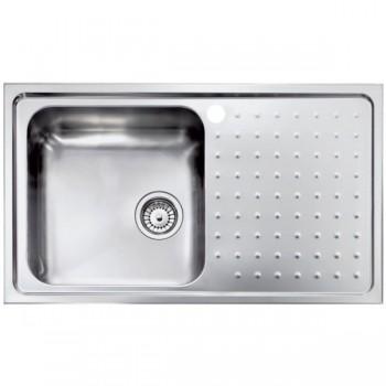 Sanitec Stainless Steel Sinks 11113 Ανοξείδωτος Νεροχύτης 45cm