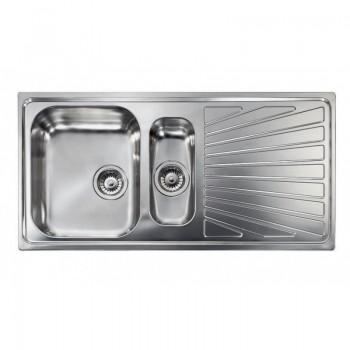 Sanitec Stainless Steel Sinks 11455 Ανοξείδωτος Νεροχύτης 60cm