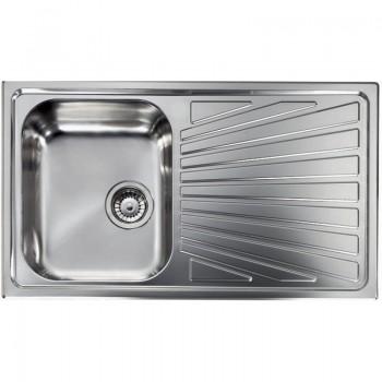 Sanitec Stainless Steel Sinks 11413 Ανοξείδωτος Νεροχύτης 45cm