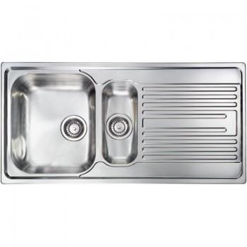 Sanitec Stainless Steel Sinks 10695 Ανοξείδωτος Νεροχύτης 60cm