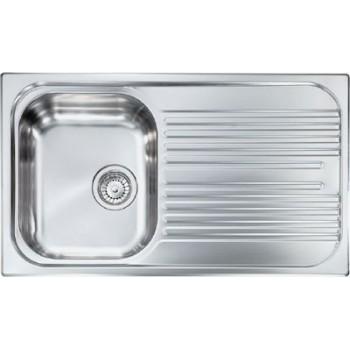 Sanitec Stainless Steel Sinks 10643 Ανοξείδωτος Νεροχύτης 45cm
