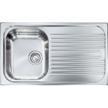 Sanitec Stainless Steel Sinks 10693 Ανοξείδωτος Νεροχύτης 45cm