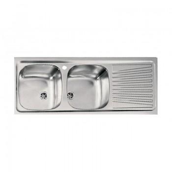 Sanitec Stainless Steel Sinks 11567 Ανοξείδωτος Νεροχύτης 80cm