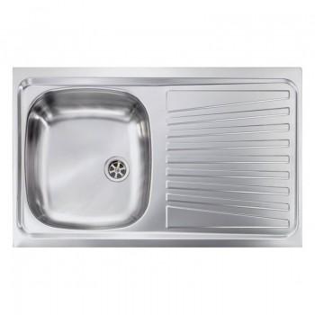 Sanitec Stainless Steel Sinks 11561 Ανοξείδωτος Νεροχύτης 45cm