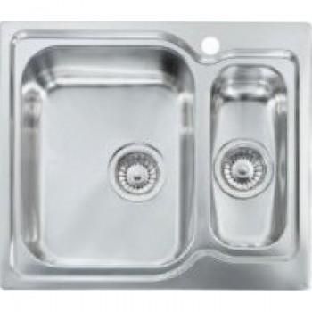 Sanitec Stainless Steel Sinks 11692 Ανοξείδωτος Νεροχύτης 60cm με ποδιά αριστερά