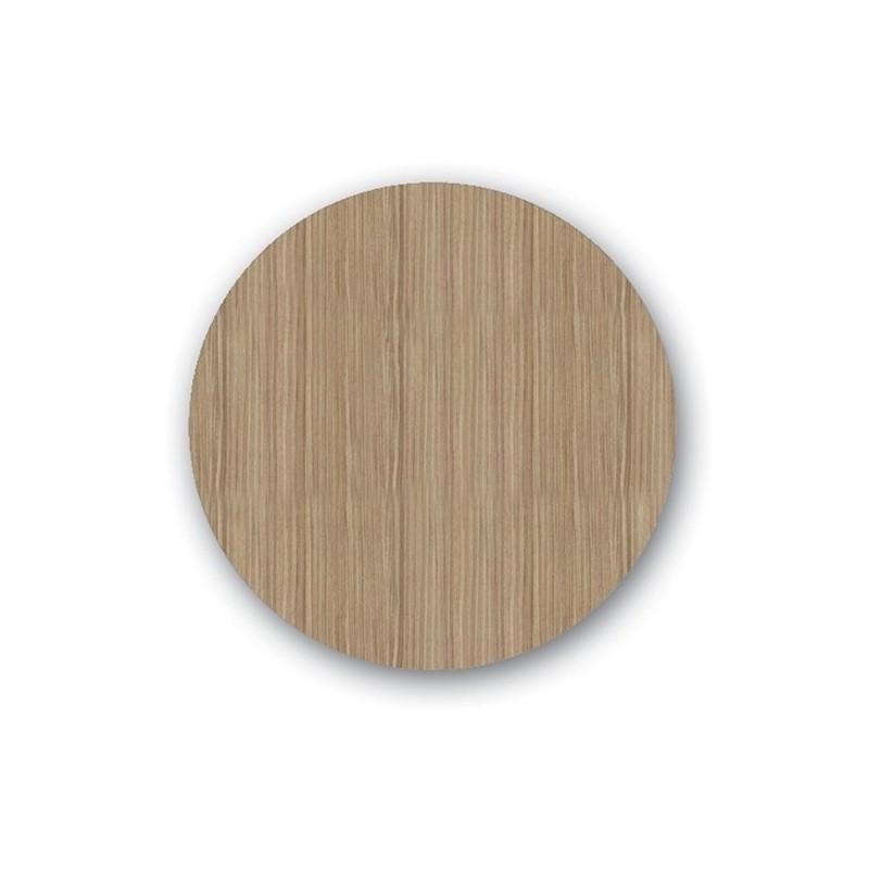 Επιφάνεια Τραπεζιού Wood Pine Werzalit Φ60 εκ.
