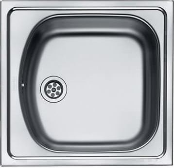 Franke ETL 610 Inox Σαγρέ Ανοξείδωτος Νεροχύτης 45cm