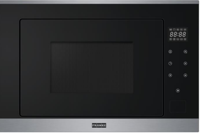 Franke Smart FSM 25 MW XS Inox Microwave Φούρνος 25 lt