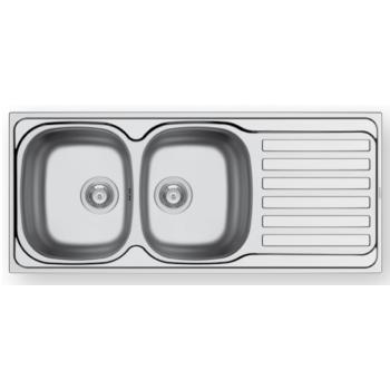 Maidsinks by Pyramis Derby Σατινέ Ανοξείδωτος Νεροχύτης 80  cm