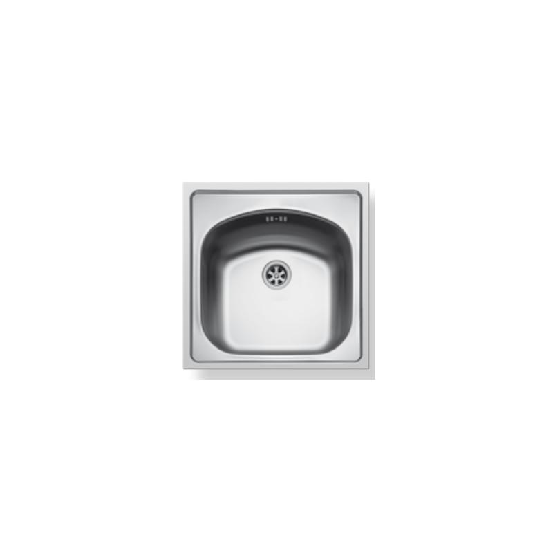 Maidsinks by Pyramis Inset Σατινέ Ανοξείδωτος Νεροχύτης 45  cm