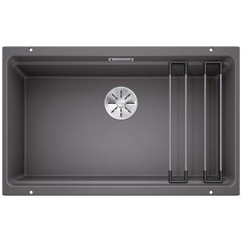 Blanco Etagon 700-U Rock Grey SILGRANIT® PuraDur® Γρανιτένιος Νεροχύτης 80cm