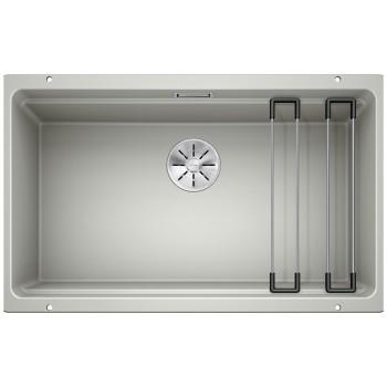 Blanco Etagon 700-U Pearl Grey SILGRANIT® PuraDur® Γρανιτένιος Νεροχύτης 80cm