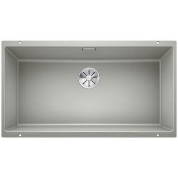 Blanco Subline 800-U Pearl Grey SILGRANIT® PuraDur® Γρανιτένιος Νεροχύτης 90cm