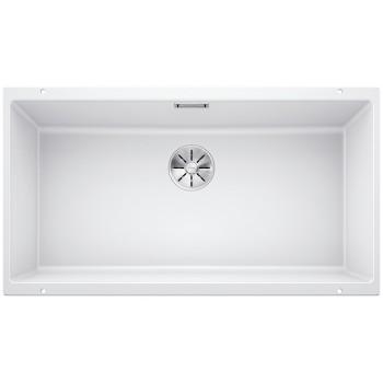 Blanco Subline 800-U White SILGRANIT® PuraDur® Γρανιτένιος Νεροχύτης 90cm