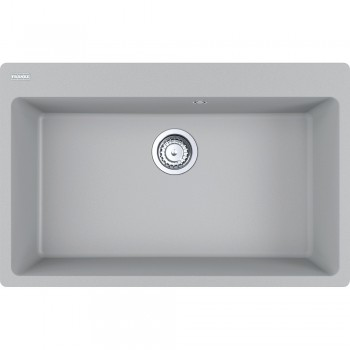 Franke Centro CNG 610/210-73 Metallic Platinum Γρανιτένιος Νεροχύτης 80cm