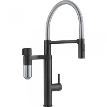 Franke Semi Pro Industrial Black / Χρωμέ  Σύστημα Φιλτραρίσματος Vital Capsule Filter