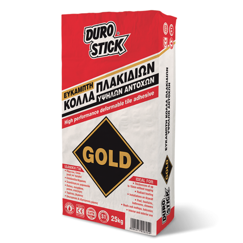 Durostick GOLD Εύκαμπτη Κόλλα Πλακιδίων 25kg