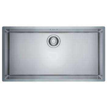 Franke Square BXX 210-80 Inox Λείος Υποκαθήμενος Νεροχύτης 80 cm