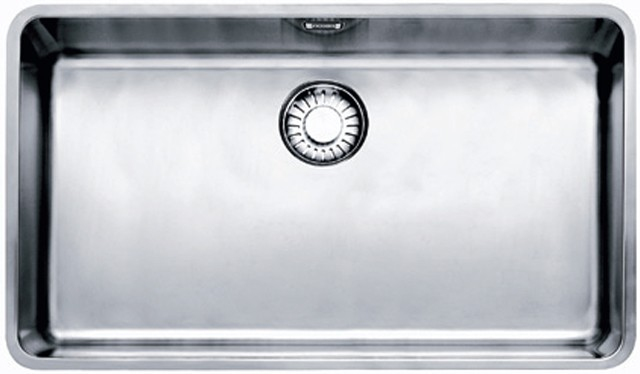 Franke Kubus KBX 110-70 Υποκαθήμενος Νεροχύτης Inox 80cm