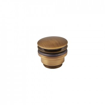 "Armando Vicario Clic-clac 16001356 Antique Brass Βαλβίδα Νιπτήρος clic - clac 1¼"""