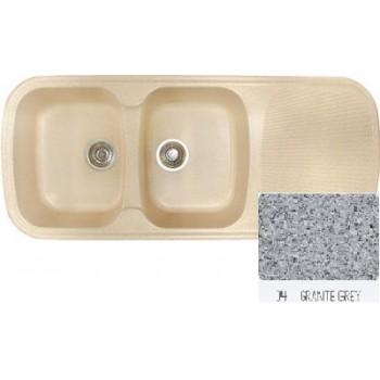Sanitec Classic 300 Granite Grey Νεροχύτης