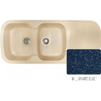 Sanitec Classic 300 Granite Blue Νεροχύτης