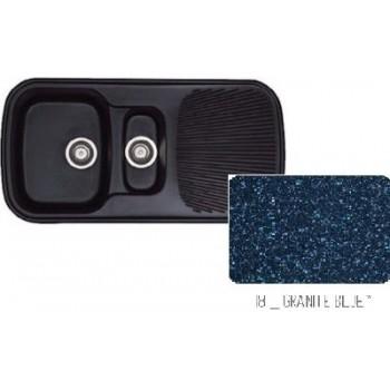 Sanitec Classic 301 Granite Blue Νεροχύτης