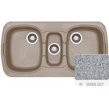 Sanitec Classic 303 Granite Grey Νεροχύτης