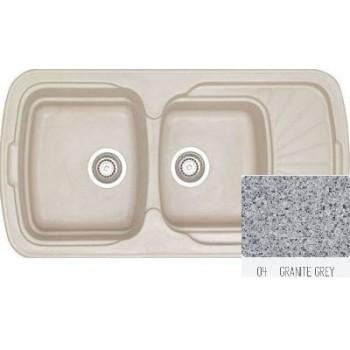 Sanitec Classic 304 Granite Grey Νεροχύτης